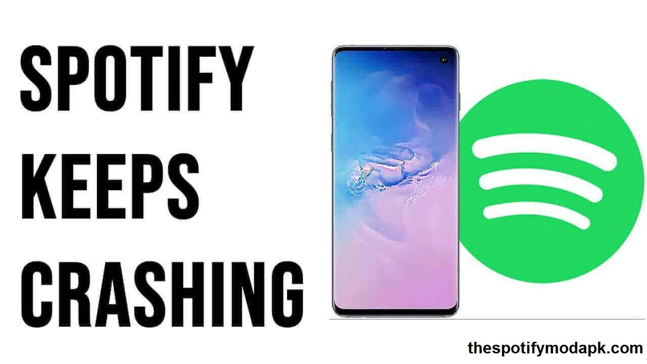 Crashed Spotify apk file