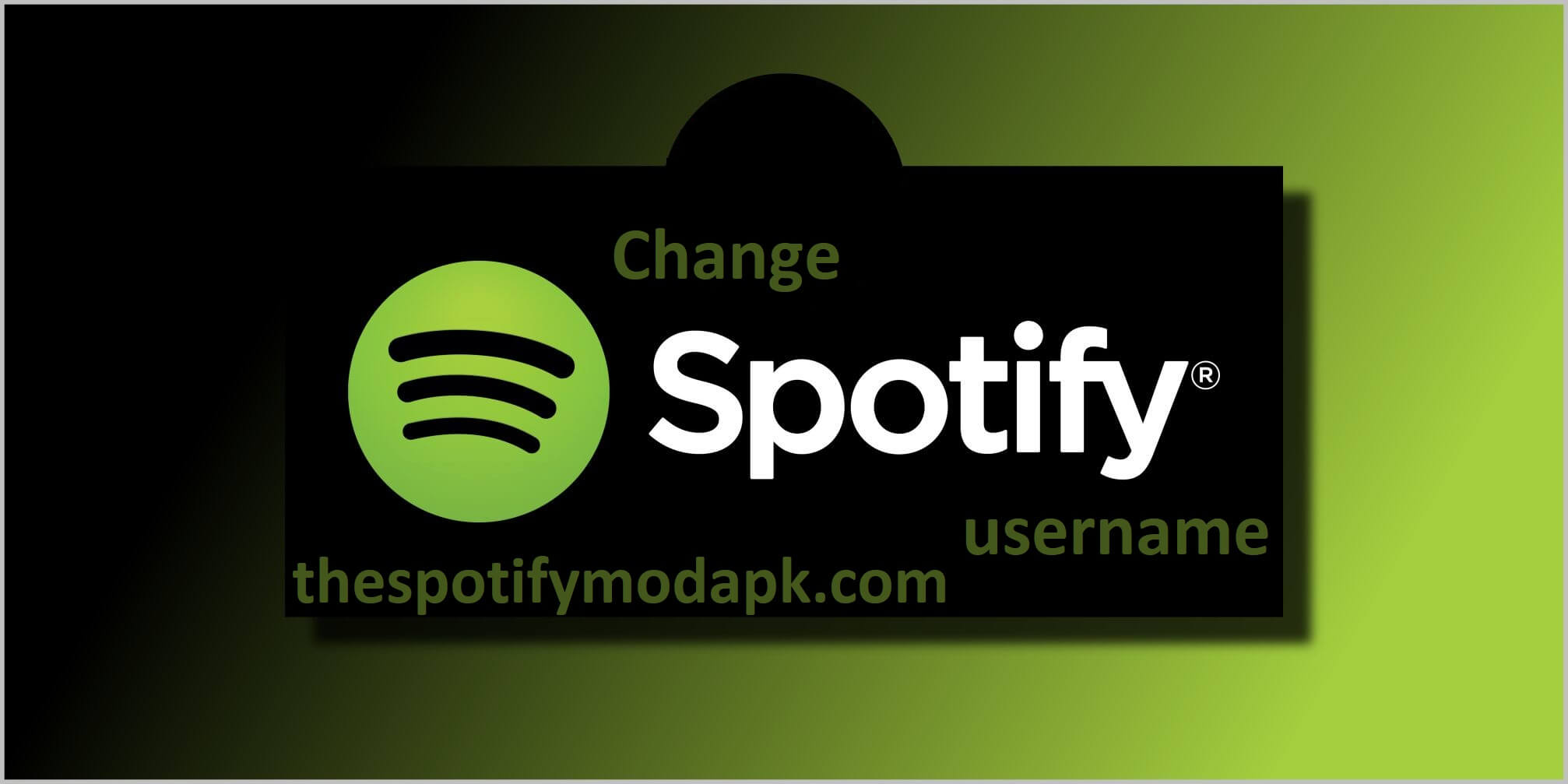 change Spotify username